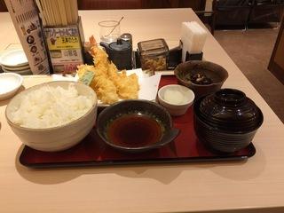 10月27日朝食(ヽ松(てんまつ) 海鮮天ぷら定食) ライトベイダー(Lightvader)のグルメ日記